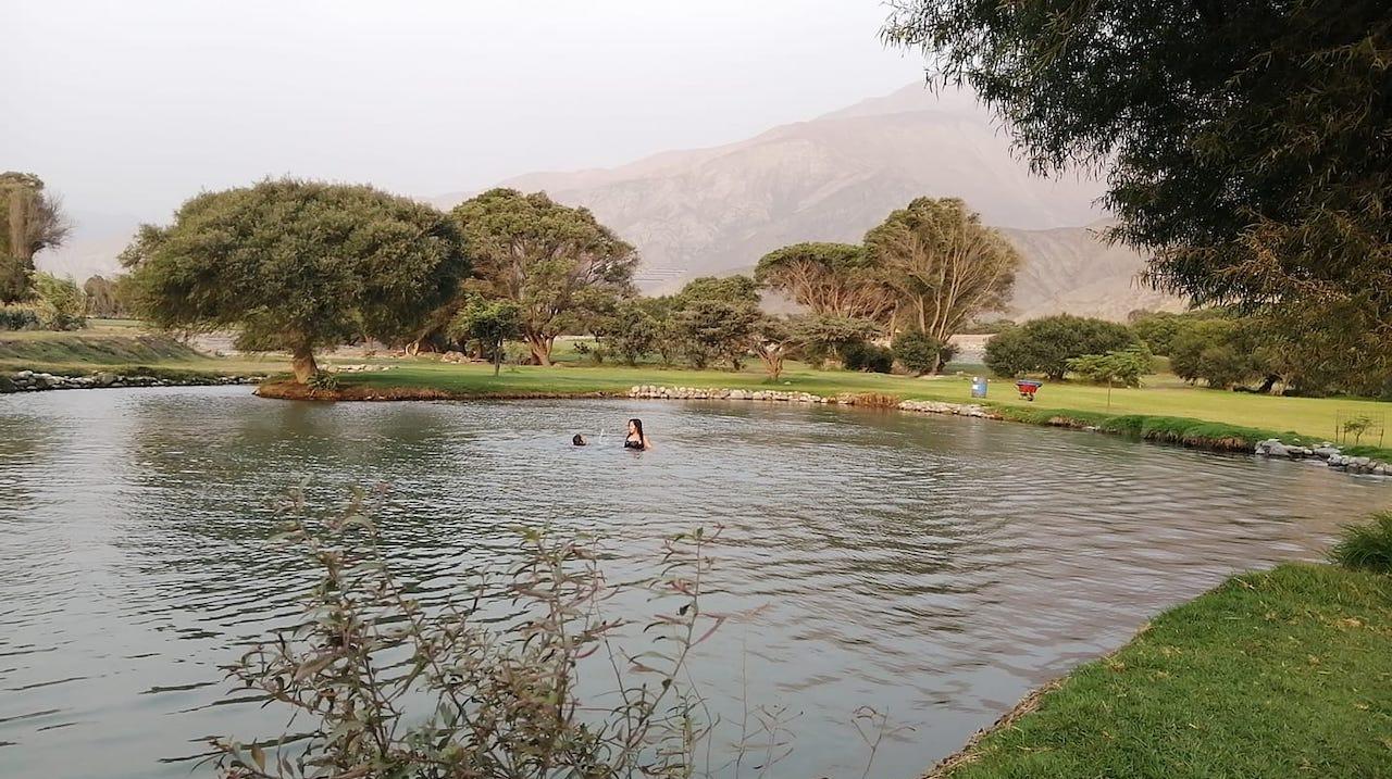 Laguna Candamo en Carabayllo